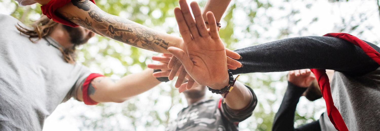 Sliderbild Hände